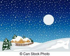 eps vectors of christmas snow landscape background an