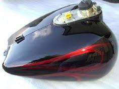 flame paint harley u2013 red black flames motorcycle painting by