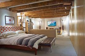 soundproof drywall basement contemporary with basement bedroom