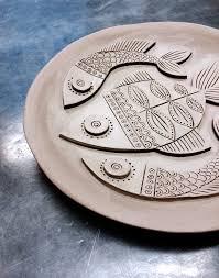 ceramic fish platter mr milly s ceramic fish plate pinteres