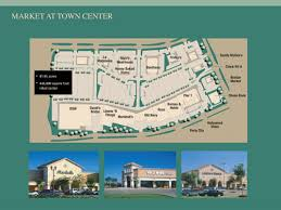 colony mall map planned community developers market at town center