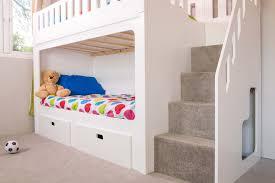 Bunk Bed With Storage Bunk Bed With Storage Stairs Style Bunk Bed With Storage Stairs