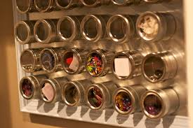 Diy Magnetic Spice Rack 30 Diy Storage Ideas For Your Art And Crafts Supplies