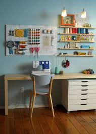 Creative Desk Ideas For Small Spaces Sewing Room Ideas The Seasoned Homemaker