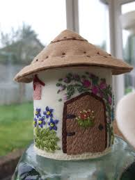 felt country cottage ornament home decor and accessories