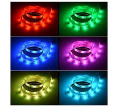 led strip lights for tv dc 5v usb rgb led strip light 5050 smd tv lcd screen desktop
