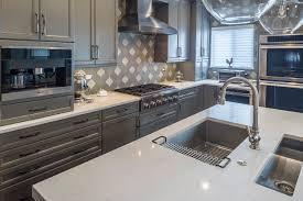 grey white kitchen chef u0027s kitchen in shades of grey kitchen master