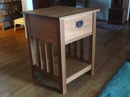 mission style end tables hand made mission style end table by rob clark furniture