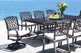 Cast Aluminum Patio Tables Cast Aluminum Patio Furniture Shop Patio Furniture At