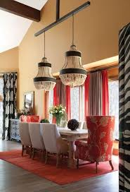 25 best dining images on pinterest dining room design dining this is a fun dining room love the scale of the light fixtures and the