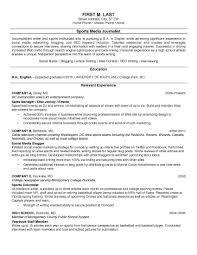 resume exles for media internships college student resume sle internship sles for summer job no