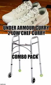 Two Picture Meme Maker - stephen curry s new kicks combo pack imgflip