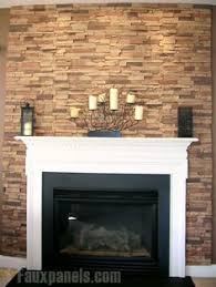 Amazing Fireplace Stone Panels Small by If You Like The Look Of Stonework But The Project Is Daunting