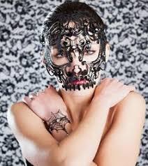 laser cut masquerade masks new handsome black masquerade mask laser cut men s mask unisex