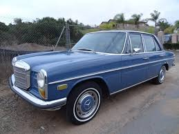w114 mercedes benz w114 230 s manual start up u0026 test drive 1