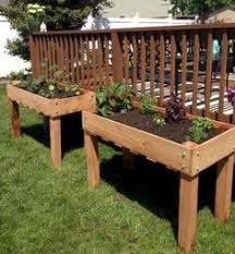 diy elevated garden bed on legs landscaping ideas landscape