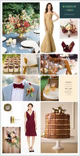 120 burgundy gold wedding images fall