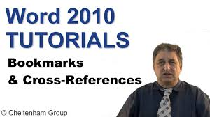 tutorial youtube word word 2010 tutorial bookmarks cross references youtube