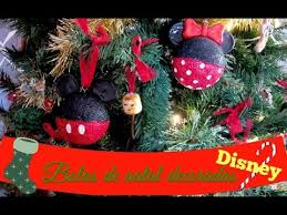 diy bola de natal disney disney christmas ornaments