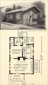 1914 tiny cottage bungalow 600 sq ft george palmer telling