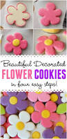Easy Icing Flowers - best 25 flower cookies ideas on pinterest flower sugar cookies