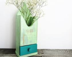 Mint Green Home Decor Upcycled Home Decor Etsy