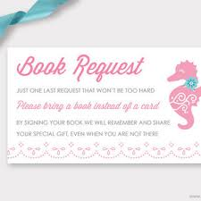 baby shower bring a book instead of a card poem baby shower book instead of card free print ba shower invitations