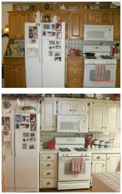 Kitchen Cabinet Top Molding by Best 25 Rustoleum Cabinet Transformation Ideas On Pinterest How