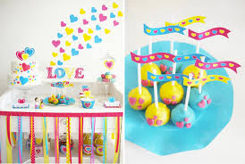 Valentine S Day Birthday Decor by Kara U0027s Party Ideas Modern Colorful Bright Boy Valentine U0027s Day