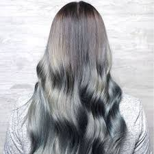 grey hair trend 20 glamorous hairstyles for women 2018 page 2 of 4