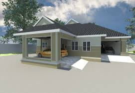 6 Bedroom Bungalow House Plans Phenomenal 4 Bedroom Bungalow Architectural Design 10 Plan In