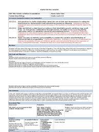 digital unit plan template genetics mutation