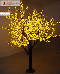 8ft shape led cherry tree hl ch004 y hollinlighting