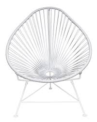 Acapulco Outdoor Chair Amazon Com Innit Designs Baby Acapulco Chair White Weave On