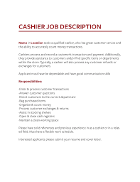 Food Runner Job Description For Resume Job Description Templates The Definitive Guide