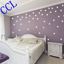 circle wall stickers promotion shop for promotional circle wall free shipping polka dot wall stickers home decor polka dot art wall decals circle decals for walls f2074