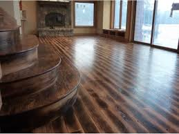 lovely burnt wood floor my