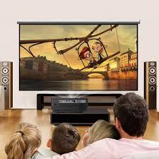 projector vs tv home theater aliexpress com buy original excelvan rd 805 mini led projector