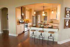 kitchen peninsula with seating ideas for small kitchens counter kitchen kitchen peninsula cabinets bar stool walnut and cream glass 1 light