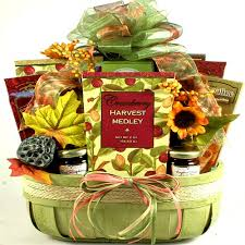 food basket gifts harvest breakfast food basket