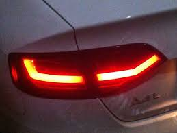 audi a4 tail lights for audi a4 a4l a4l b8 led tail lights 2008 to 2012 year car