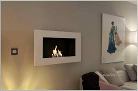 wall fireplace traveled living stainless steel wall mounted