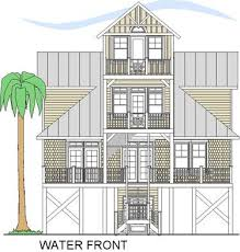 Water View House Plans 7 Best House Plans Images On Pinterest Beach House Plans Beach