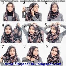 tutorial hijab segitiga paris simple tutorial hijab paris persegi simple dan mudah terbaru 2017 tutorial