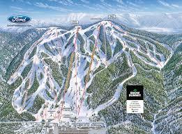 Michigan Snow Cam Map by Trail Maps Big Bear Mountain Resort Winter