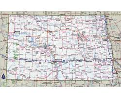 Road Maps Usa by Maps Of North Dakota State Collection Of Detailed Maps Of North