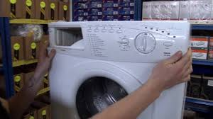 how to replace washing machine controls in a hotpoint washing