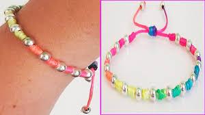 diy bracelet with beads images Diy bracelets with beads with string friendship bracelets tutorial jpg
