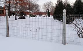ornamental loop fence woven wire fences