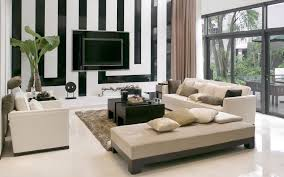 Modern Media Room Ideas - furniture interior living room fancy brown chaise lounge sofa